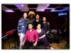 Amaury Acosta, Axel Laugart, Cristian Mendoza, Felipe Fournier.  Seated, Rudy Vidal Espinosa and Marilyn Castillo