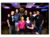 Martin Cohen, Amaury Acosta, Axel Laugart, Cristian Mendoza, Felipe Fournier and Javier Raez.  Seated, Rudy Vidal Espinosa and  Marilyn Castillo