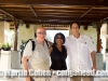 Martin, Vivianne and Eddy at Ayana Resort and Spa. Bali, Indonesia