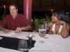 Ed Balma and Vivianne Cohen at the Viceroy Hotel, Bali