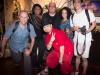Michael, Vivianne, Martin, Samara, Pan Pan with Amp in front.  Bangkok, Thailand