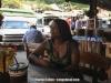 Vivianne in Hmong village, Chaing Mai, Thailand