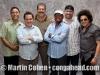 "Landy Felix, Mike Eckroth, Johnny ""Dandy"" Rodriguez, Jimmy Delgado, Dave Santiago and Pepe Espinosa"