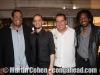 John Benitez, Jaimeo Brown, Felix Medina and Elio Villafranca