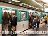 Metro. Paris, France.