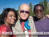 Vivianne and Martin Cohen and Fio Koné. Persan, France.