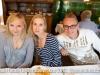 Isabel, Francesca and Marcel at Gasthaus am schiffin Mammern, Switzerland
