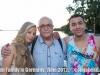 Loisa, Marth and Matthew at Lake Konstanz.  Allensbach, Germany