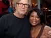 Eric Clapton and Vivianne Cohen