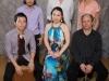 Keita Ogawa, Tatsuya Sakurai, Hiromi Suda, Petros Klampanis, Helio Alves and Anne Drummond