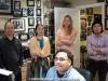Helio Alves, Hiromi Suda, Anne Drummond and Tatsuya Sakurai with Javier Raez on computer
