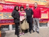 Vivianne, Kenna, Martin and Gary.  Tai O, Lantau Island