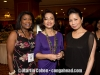 Vivianne Cohen with Mrs. Peter Gontha and her friend, Kim