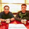 Javier Raez and Matt Cohen. Mira Flores, Lima, Peru