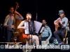 Banda Magda at Drom, NYC.  Petros, Magda, Marcelo, Nacho