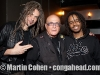 JC Maillaard, Martin Cohen and Guadalupe drummer