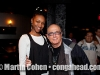 Martin Cohen and beautiful member of Jazz Standard staff