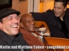 Jeffrey and Marc Lopez with Almost 91 year old percussion legend, Candido