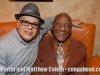 Little Johnny Rivero and almost 91 year old percussion legend, Candido