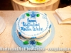Papilon's birthday cake gift to me