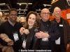 Paulino and Arice da Costa, Martin Cohen and Remo Belli