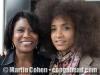 Vivianne Cohen and Esmeralda Spalding