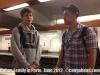Ivan and Matthew in the Paris Metro