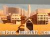 An exhibit at.Centre Pompidou.  Paris, France.