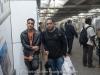 Matthew and Javier in Paris Metro