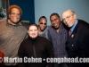 """John Benitez, Luis Faife, Pedro """"Pedrito"""" Martinez, Osmany Paredes and Todd Barkan"""