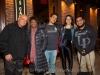 Martin, Vivianne and Matthew Cohen, Hillary and Javier Raez
