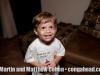 Little boy at Myrna's condo in Dorado, Puerto Rico