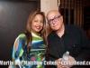 Kaila Lucca and Martin Cohen.  Christmas Eve. Coamo, Puerto Rico block party