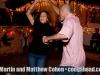 Christmas Eve. Coamo, Puerto Rico block party
