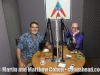 Robert Padilla and Martin Cohen in Robert's interview studio