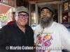 Martin Cohen and friend. El Balcon del Zumbador. Pinones, Puerto Rico.