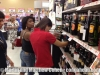 Vivianne shopping for wine at Walmart