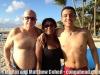Martin, Vivianne and Matthew at Palomino Island, El Conquistador Hotel, Fajardo, Puerto Rico