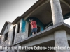 Matthew Cohen at the home of Robert Padilla in Cupey Alto, Puerto Rico