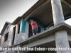 Matthew Cohen at the home of Robert Padilla