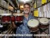 Robert Padilla with LP bongos