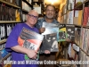 Martin Cohen and Robert Padilla with early LP vinyl productions