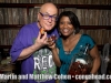 Martin and Vivianne Cohen with Robert Padilla's home made rum