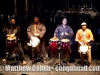 Percussionists play in tribue to the life of Ral[j