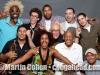 Axel Laugart, Michael Valeanu, Chris Smith, Amaury Acosta, Max Cudworth. Front row, Mike Rodriguez, Xiomara Laugart, Martin Cohen, Candido Camero and Mauricio Herrera