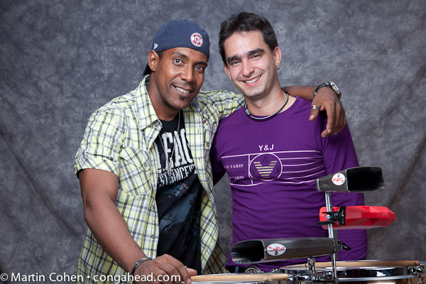 Duni and Miguel Percussion