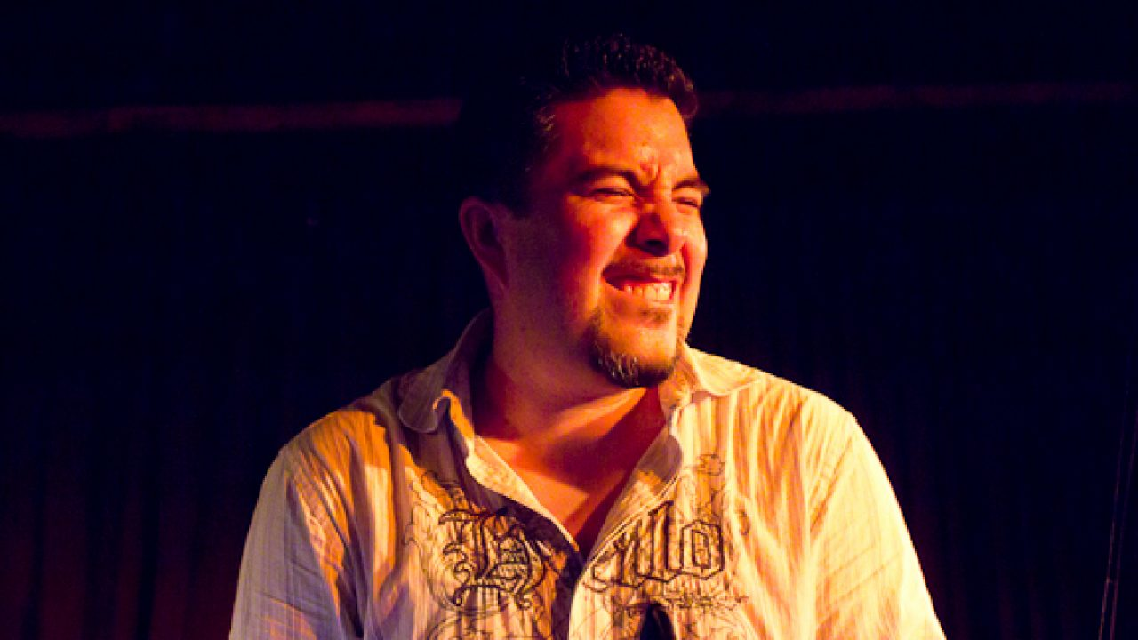 Samuel Torres at Zinc Bar.  September 15, 2010