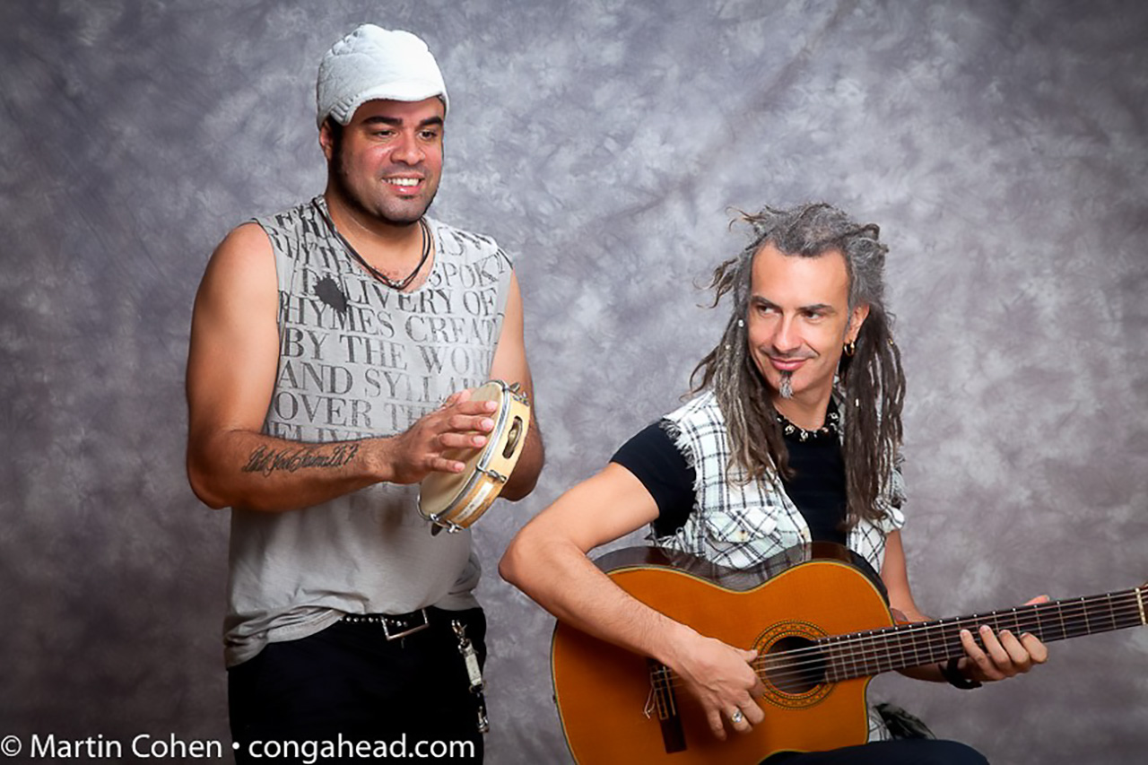Gilmar Gomes Pandeiro and Voice and Duo with JC Maillard