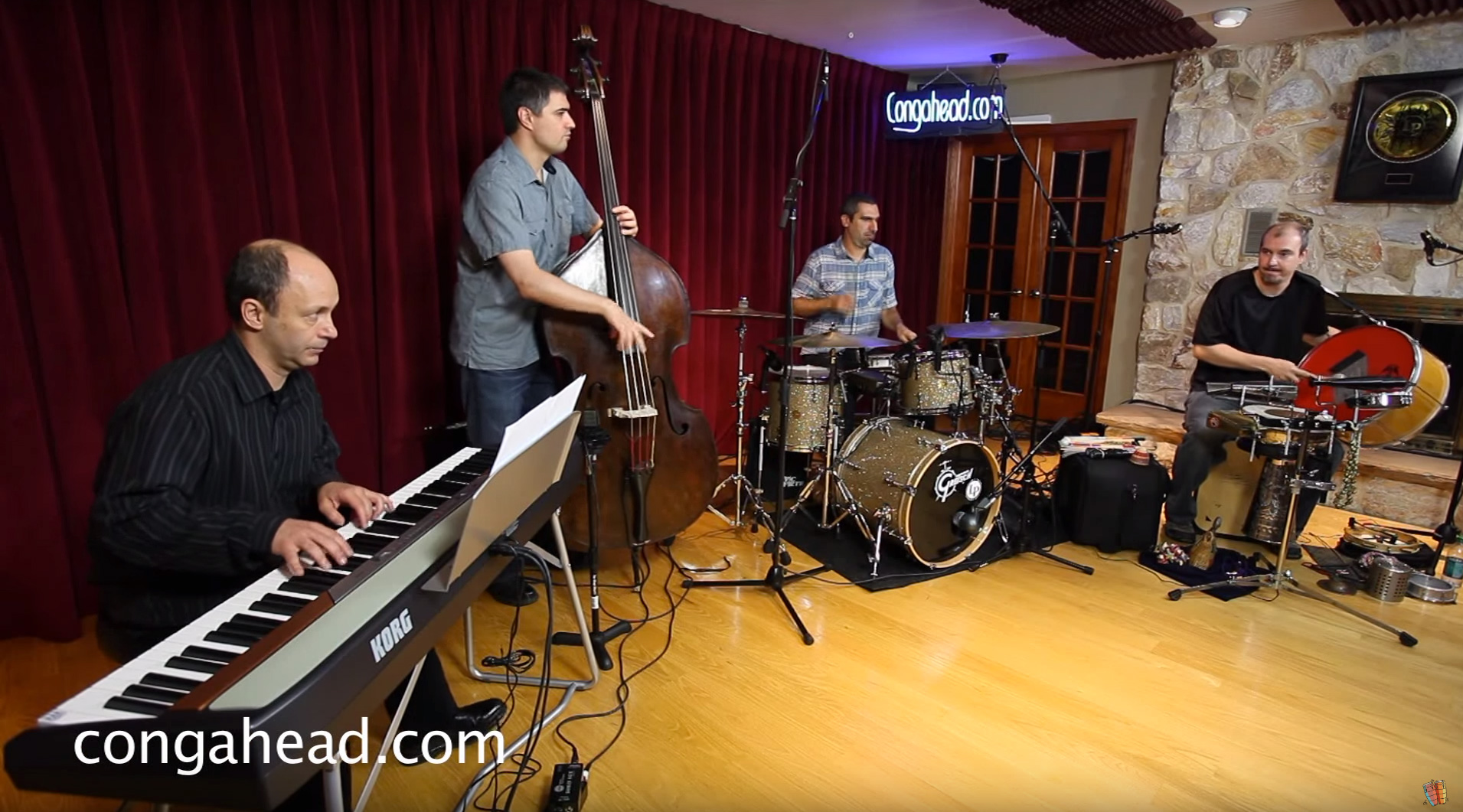 Brazilian Collective Quartet video session