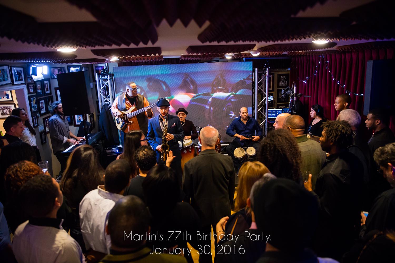 Martin's 77th Birthday Party